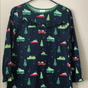 Wondershop pajamas 12 sleepwear holidays franela